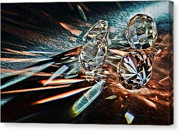 Fire And Ice Canvas Print by Marcia Colelli