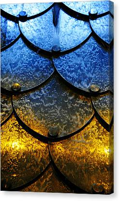 Metal Canvas Print - Fire And Ice by Skip Hunt
