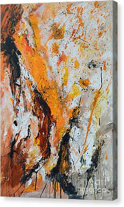 Fire And Passion - Abstract Canvas Print