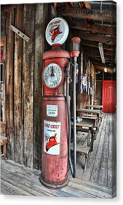 Fire Chief Canvas Print by Jan Amiss Photography