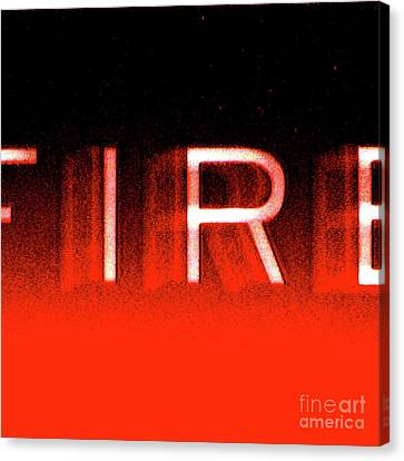 Fire Canvas Print by CML Brown