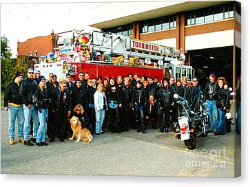 Fire Dept. Toy Run Canvas Print