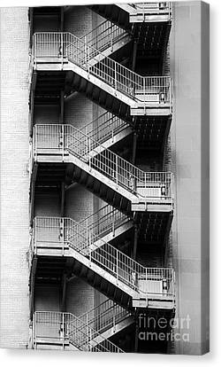 Fire Escapes Canvas Print by James Brunker