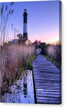 Fire Island Reflections Canvas Print by JC Findley