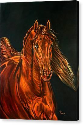 Fire Canvas Print by Leena Pekkalainen