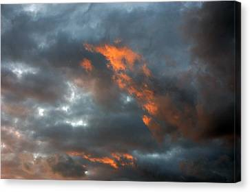 Fire Light Canvas Print