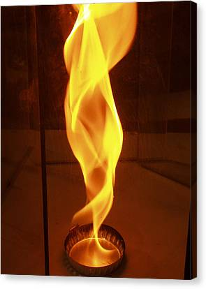 Fire Research, Fire Whirl Canvas Print by NIST/Science Source