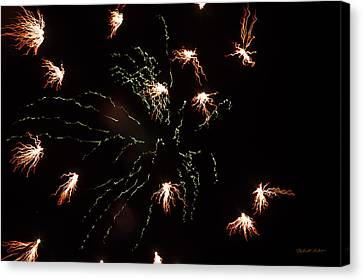 Canvas Print featuring the photograph Fire by Robert Culver