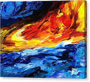 Fire Spring Canvas Print