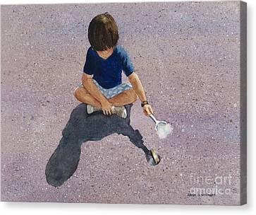 Fire Starter Canvas Print by Karol Wyckoff