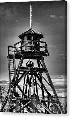 Fire Tower 2 Canvas Print by Fran Riley