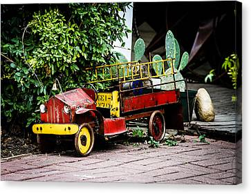 Fire Truck Canvas Print