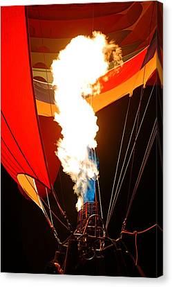 Fire Up The Night Canvas Print
