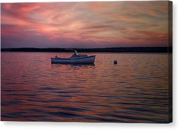 Fire Water  Canvas Print by Kenny  Noddin