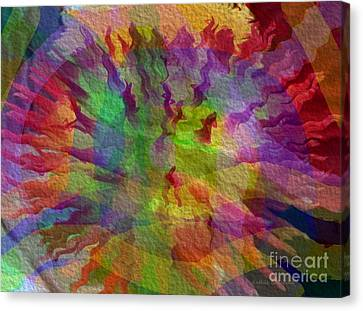 Canvas Print featuring the photograph Fire Within by Kathie Chicoine