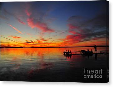 Firecracker Sunset 33 Canvas Print