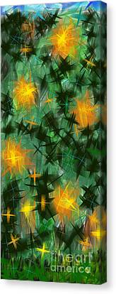 Fireflies Canvas Print by Lena Wilhite