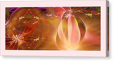 Firefly Canvas Print by Gayle Odsather