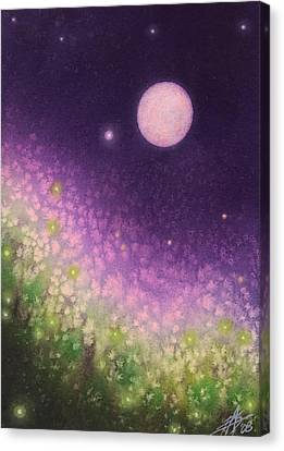 Firefly Night II Canvas Print