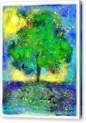 Firefly Summer Nights Canvas Print