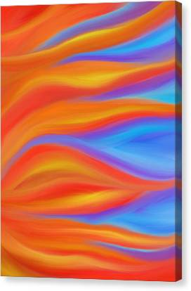 Daina Canvas Print - Firelight by Daina White