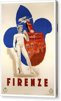 Firenze 1935 Canvas Print by Georgia Fowler