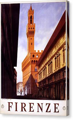 Firenze Italy Canvas Print by Georgia Fowler