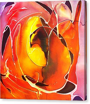 Firepot Canvas Print by Pat Purdy