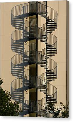 Firestairs Canvas Print