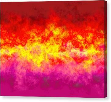 Firestarter Canvas Print by Wendy J St Christopher