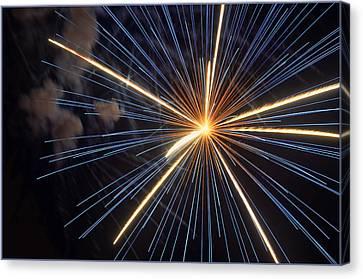 Firework 6 Canvas Print