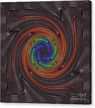 Firework Dark Canvas Print
