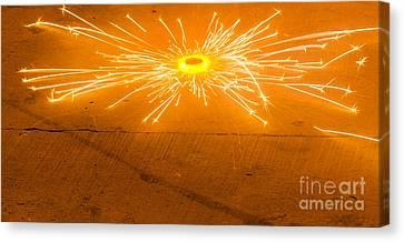 Firework Wheel Canvas Print by Image World