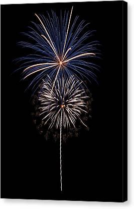 Fireworks 02 Canvas Print