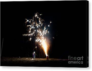 Independance Canvas Print - Fireworks 11 by Cassie Marie Photography