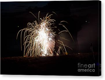 Fireworks 18 Canvas Print