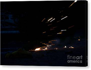 Independance Canvas Print - Fireworks 2 by Cassie Marie Photography