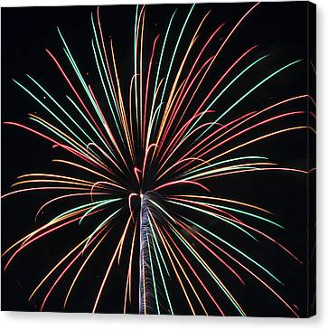 Fireworks 20 Canvas Print by Staci Bigelow