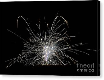 Independance Canvas Print - Fireworks 21 by Cassie Marie Photography