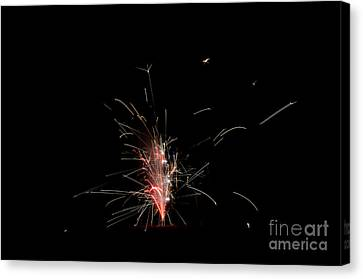 Independance Canvas Print - Fireworks 23 by Cassie Marie Photography
