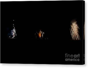 Fireworks 26 Canvas Print