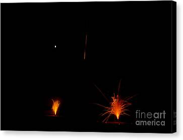 Fireworks 27 Canvas Print by Cassie Marie Photography