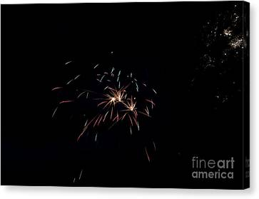 Independance Canvas Print - Fireworks 29 by Cassie Marie Photography