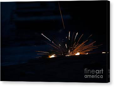 Independance Canvas Print - Fireworks 3 by Cassie Marie Photography