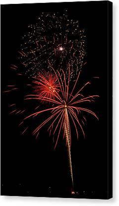 Fireworks 3 Canvas Print