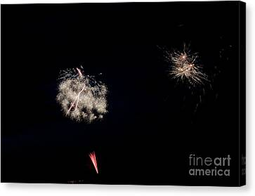 Independance Canvas Print - Fireworks 32 by Cassie Marie Photography