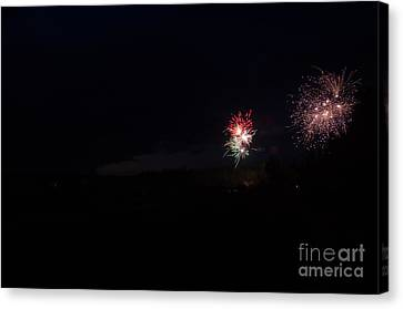 Fireworks 37 Canvas Print by Cassie Marie Photography