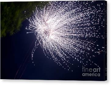 Independance Canvas Print - Fireworks 43 by Cassie Marie Photography