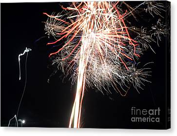 Independance Canvas Print - Fireworks 45 by Cassie Marie Photography