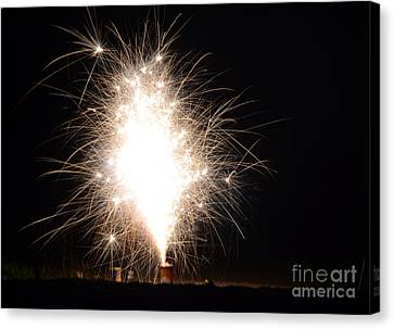 Independance Canvas Print - Fireworks 46 by Cassie Marie Photography